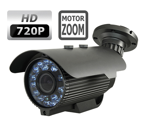 NVGM228HD - 1 3MPix HD motorised varifocal zoom camera, Sony Starvis,  HDCVI/960H - FW-HAC