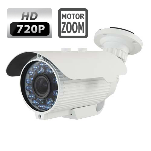 NVWM228HD - 1 3MPix HD motorised varifocal zoom camera, Sony Starvis,  HDCVI/960H - FW-HAC