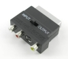Scart Adapter RCA Composite Video, Audio, S-Video