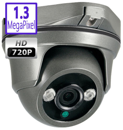 DCG159HD - 1.3MPix HDCVI dome camera, 2.8mm, 30m array IR night vision, weatherproof, 2HAC