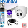 DIY complete HD CCTV System, 1 HD dome camera incl. DVR with storage, audio - 720p (1280x720pixel)