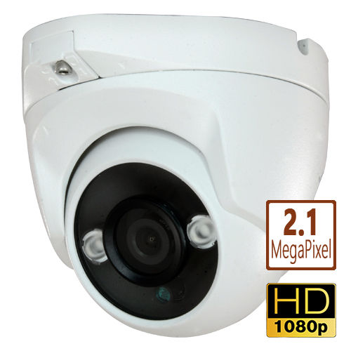 DCW2006HD - 4 in 1 HDTVI/AHD/HDCVI/CVBS Colour dome CCTV camera 2.1Mpix 1080p 2.8mm weatherpoof F4N1