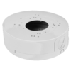 Deep Base / Junction Box for varifocal dome cameras, up to 135mm base diameter, metal, white