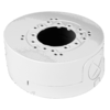 Deep Base / Junction Box for small dome cameras, metal, white